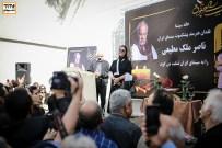 پوری بنایی در مراسم وداع با ناصر ملک مطیعی در خانه سینما - عکس از مجید فراهانی