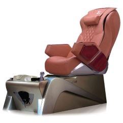 Massage Pedicure Chair Swing Wooden Lc Z 430 Spa Tittac A Cappuccino And Silver Base