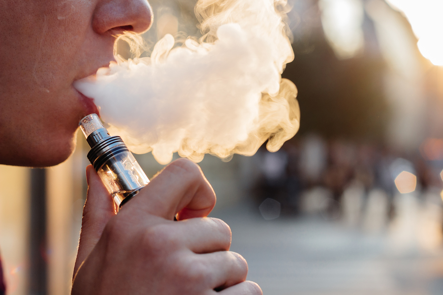 Vaping Use Varies By State