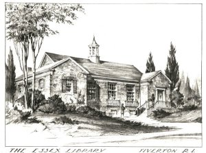 drawing of Essex library