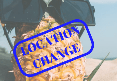 Location Change — Books at the Beach