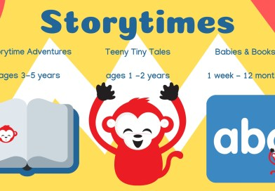 Storytime Schedule Fall 2018