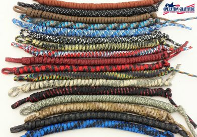 Paracord Bracelets for Operation Gratitude  (Community Service Hour Opportunity)