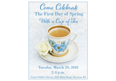 Come Celebrate The First Day of Spring With a Cup of Tea