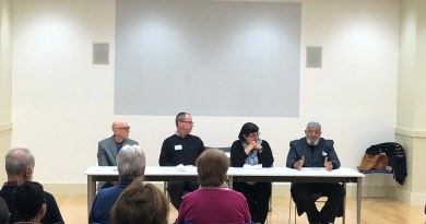Community Conversations Concludes with a Panel Discussion of Local Religious Leaders