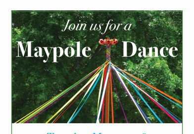 Maypole Dance at Union Library