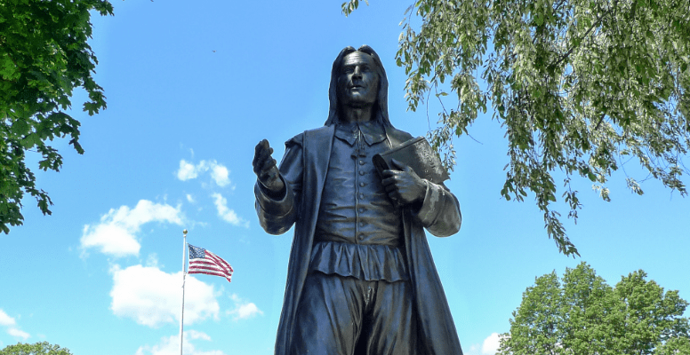 statue of roger williams
