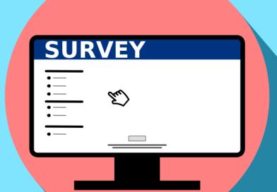 survey on a screen icon