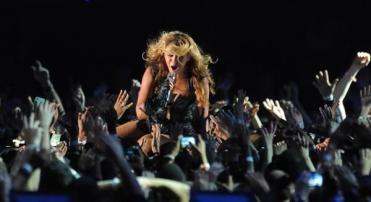 Esibizione di Beyonce nell'intervallo del super bowl