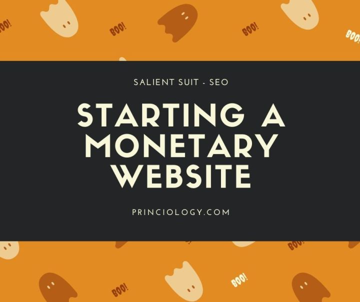 starting a monetary website
