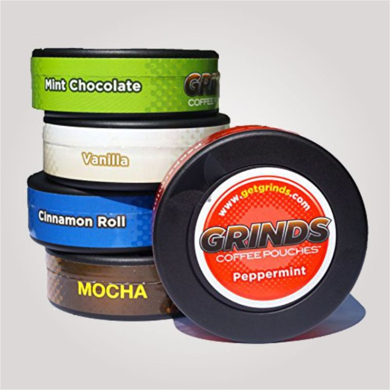 grinds coffee pouches in stores