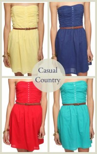 Country Casual Dresses | Cocktail Dresses 2016