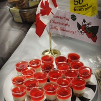 Strawberry Cheesecake Jelly Shooters!