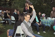 Back Yard Engagement Party Games