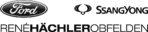 Logo_Rene_Haechler_Kombi_Ford_SsangYong_schwarz