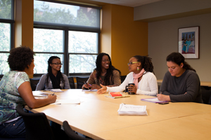 ECO Girls Planning Meeting, Afroamerican and African Studies conference room.