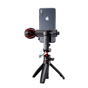 Ulanzi ST-17 360° Rotation Phone Holder Clamp Tripod Mount-india-tiyana