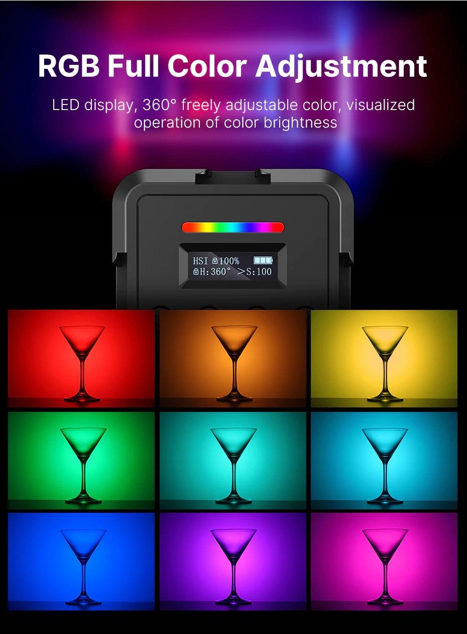 Ulanzi VL61 RGB Fill Light india tiyana 2