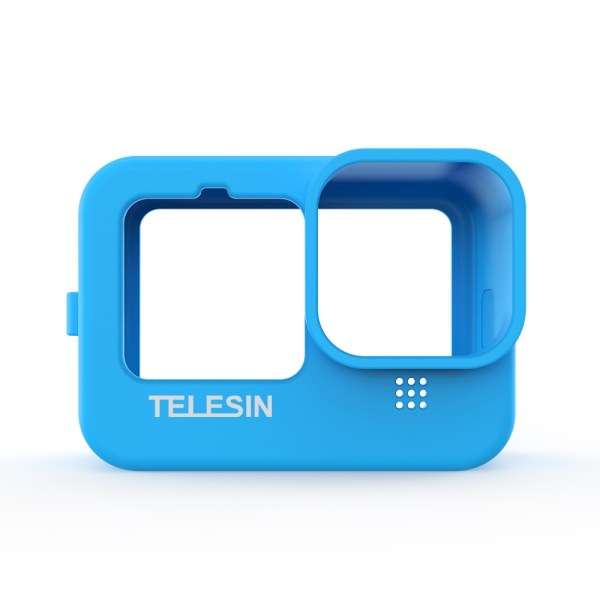 TELESIN GP-HER-041-BL Blue Silicone Soft Protective Case For GoPro 9 india tiyana 1
