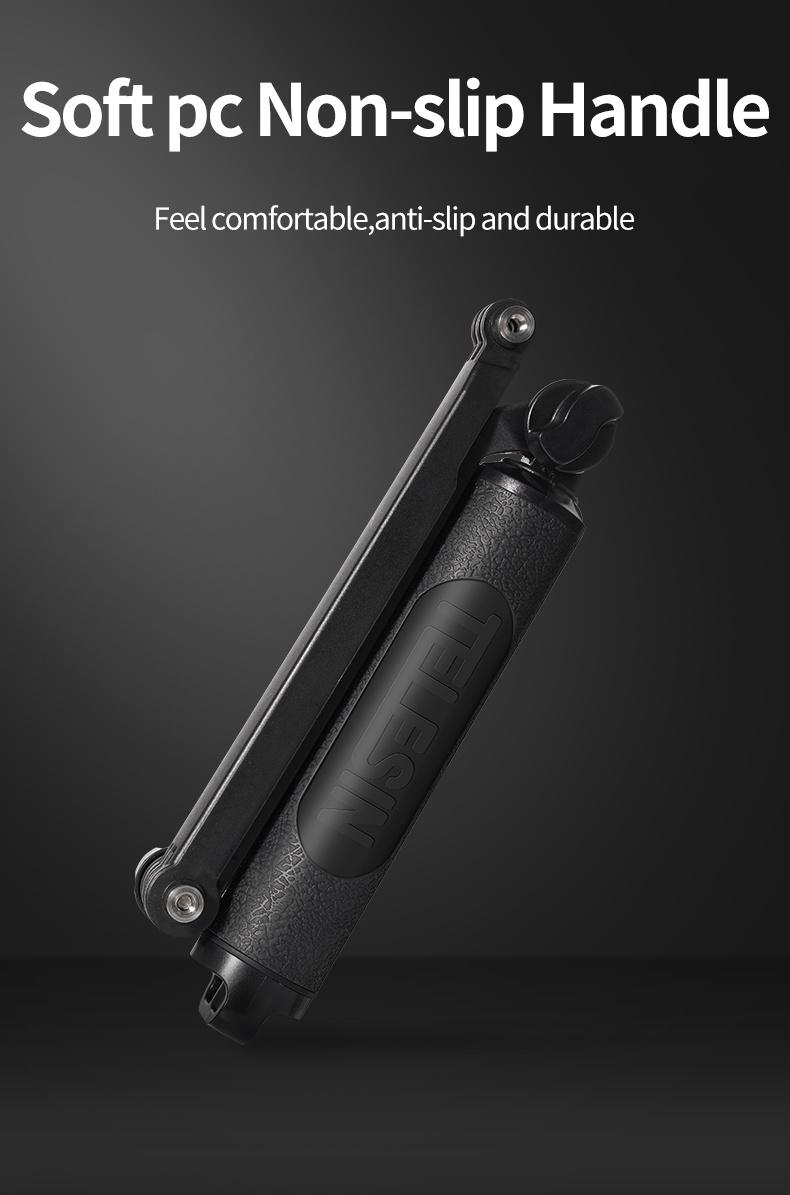 TELESIN GP-MFW-300 Multi-function Waterproof 3-way Selfie Stick india tiyana 19