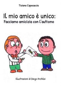 copertina libro con due bambini che scambiano un immagina con oggetto