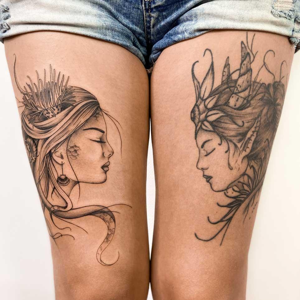 tatouage-femme-portrait-sirene-toulouse