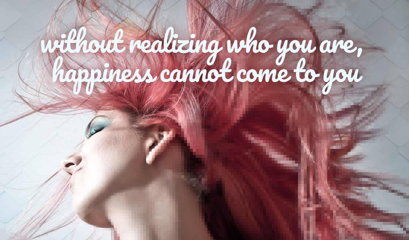 daily inspirational quote image: girls with bright pink hair shaking them wildly