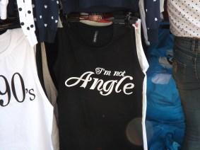 Huh! I'm no Angel
