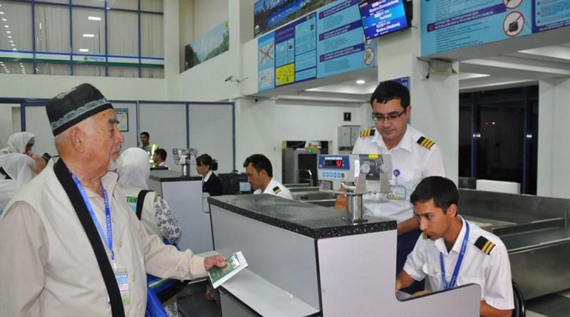 Ӯзбекистон: ҳоҷиён дар фурудгоҳ дастгир шуданд