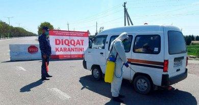 Коронавирус: тамоми қаламрави Ӯзбекистон ба «минтақаи сурх» ворид шуд