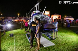 Patrons with the Captains Aviation Helicopter