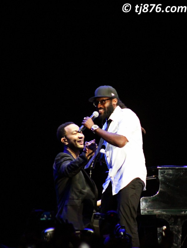 John Legend and Taurrus Riley @ Jamaica Jazz & Blues 2013