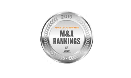 Legal Business, Asia's Best Firms for M&A Works, 2019