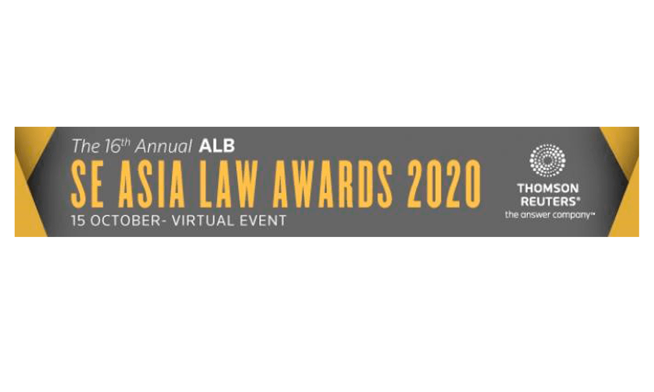 TJAJO & Partners as the finalists in the ALB SE Asia Law Awards 2020