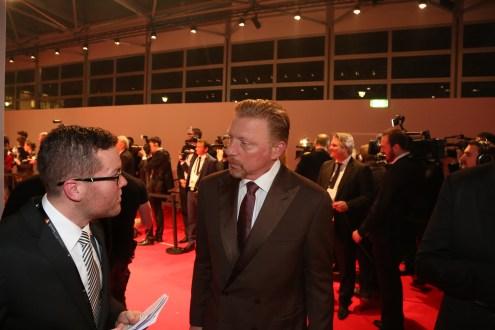 Im Gespräch mit Boris Becker