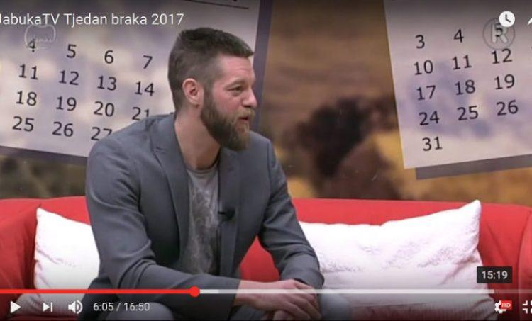 JabukaTV Tjedan braka 2017 – emisija Svakodnevnica