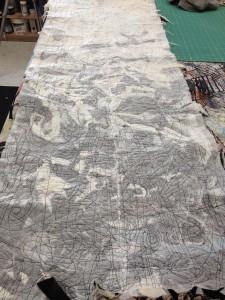 Tapestry in Solvy sandwich