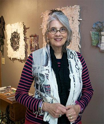 Holly Badgley in Her Studio