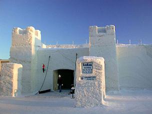 The Snow Castle of Kemi, Finland