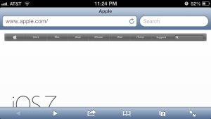 Apple Website Responsive: iPhone screenshot 2.