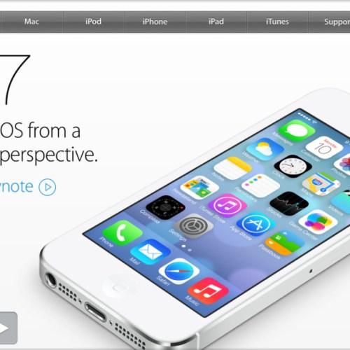 Apple Website is Responsive.