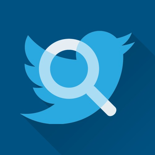 Twitter Search Icon.
