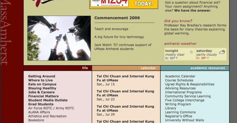 YouMass Microsite. RIP 2006.
