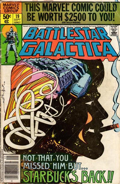 Cover to Battlestar Galactica #19