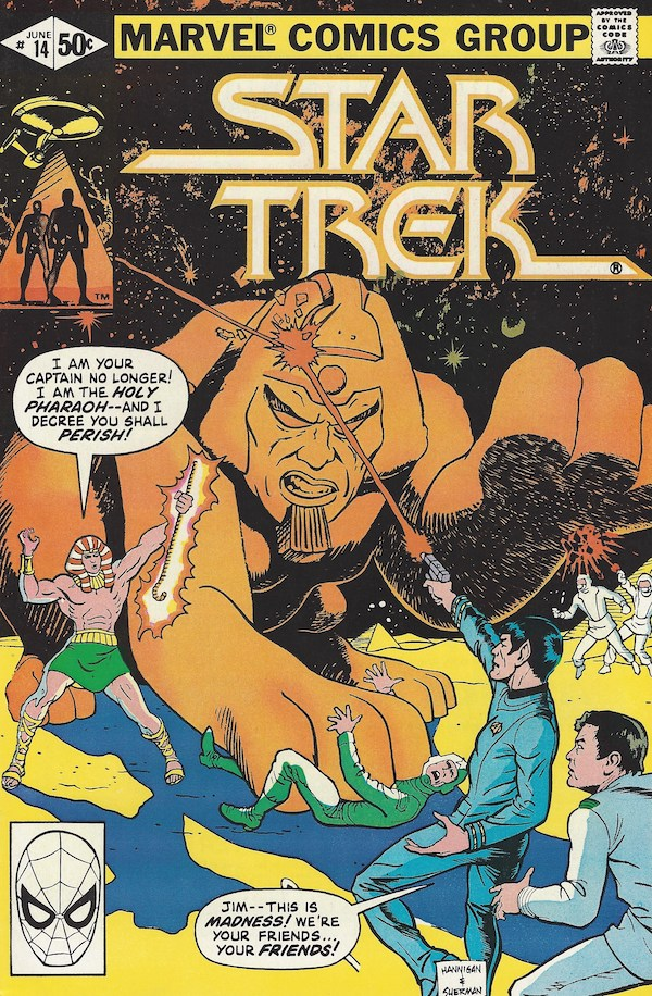 Cover to Star Trek #14