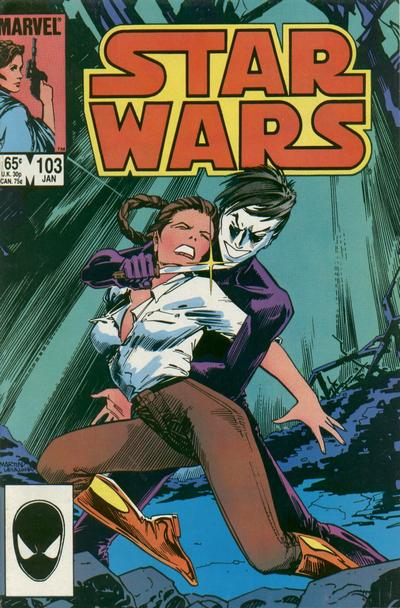Cover to Star Wars #103.