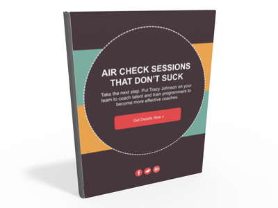 Air Check Sessions That Don't Suck eBook