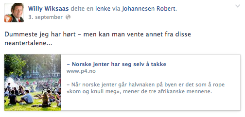 Men så var han etnisk norsk. Han også. (2/4)