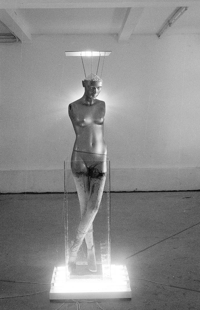 Moisture Eater Installation Tjook 1996 - sentral figure