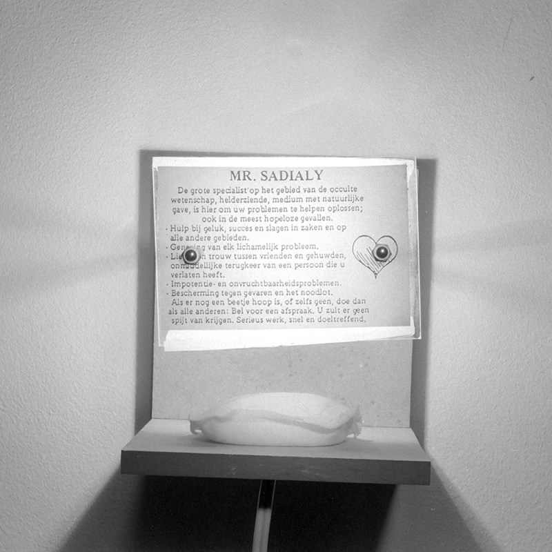 Mr. Sadialy lamp - Moisture Eater Installation Tjook 1996